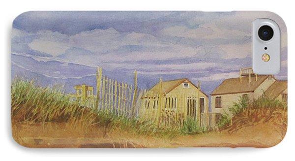 Sunset Nantucket Beach IPhone Case by Carol Flagg