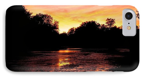 IPhone Case featuring the photograph Sunset Near Rosemere - Qc by Juergen Weiss