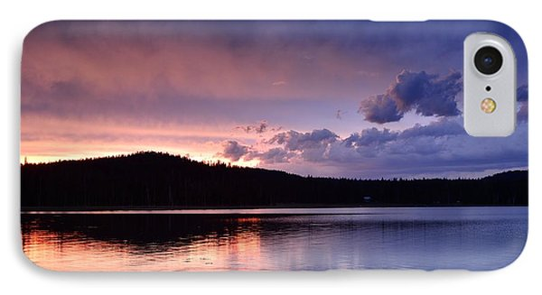 Sunset Of Fire And Ice Phone Case by Rich Rauenzahn