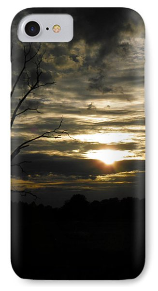 Sunset Of Life IPhone Case by Nick Kirby