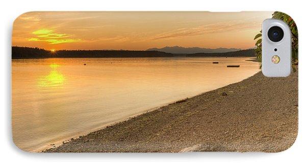 Sunset Olympic Peninsula, Washington IPhone Case