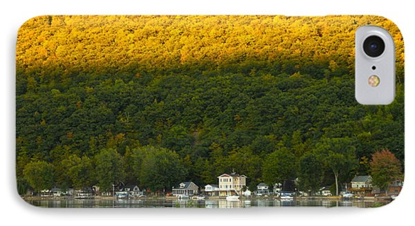 Sunset On Canandaigua Lake IPhone Case by Steve Clough