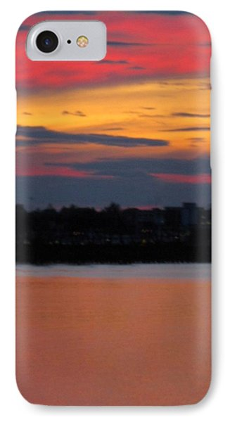 Sunset On Casco Bay Maine IPhone Case