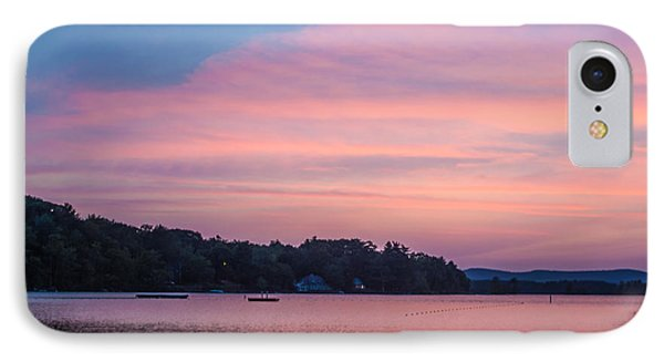 Sunset On Chickawaukee Lake Phone Case by Ernest Puglisi
