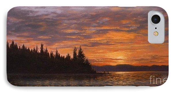 Sunset On Kayak Point IPhone Case