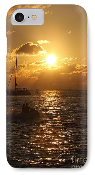 Sunset Over Key West IPhone Case by Christiane Schulze Art And Photography