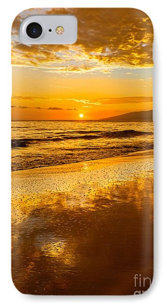 Sunset On Lahaina IPhone Case by Jamie Pham