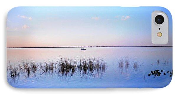 Sunset On Lake Washington 2 IPhone Case by Kay Gilley