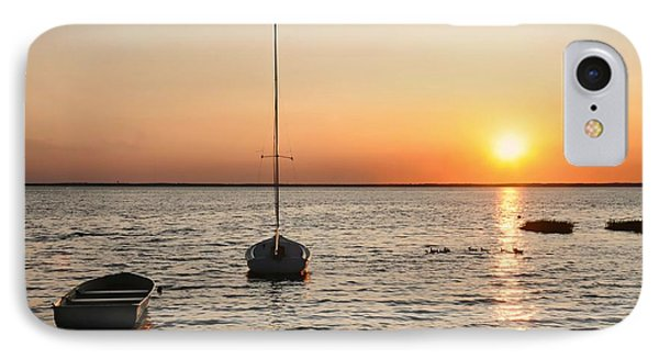 Sunset On Lbi IPhone Case by Diana Angstadt