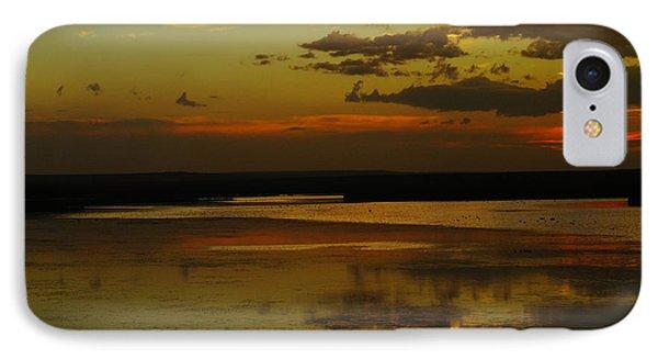 Sunset On Medicine Lake Phone Case by Jeff Swan