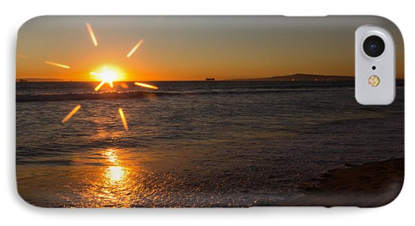 Sunset On Sunset Beach Phone Case by Heidi Smith