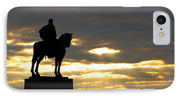 Sunset On The Battlefield IPhone Case