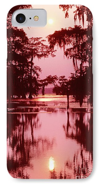 IPhone Case featuring the photograph Sunset On The Bayou Atchafalaya Basin Louisiana by Dave Welling