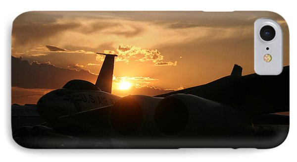 Sunset On The Cold War IPhone Case by David S Reynolds