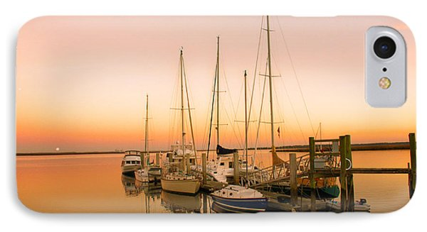 Sunset On The Dock Phone Case by Southern Photo