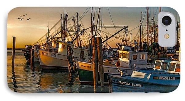 Sunset On The Fleet IPhone Case