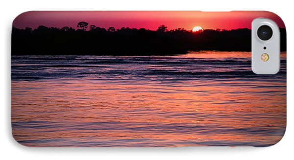 Sunset On The Halifax IPhone Case by Maria Robinson