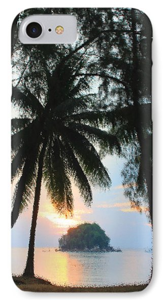 Sunset On The Island Of Tioman IPhone Case by Sergey Lukashin