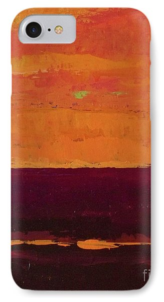 Sunset On The Pier IPhone Case by Gail Kent