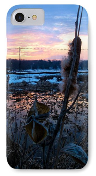 Sunset On The Pond IPhone Case by Zafer Gurel