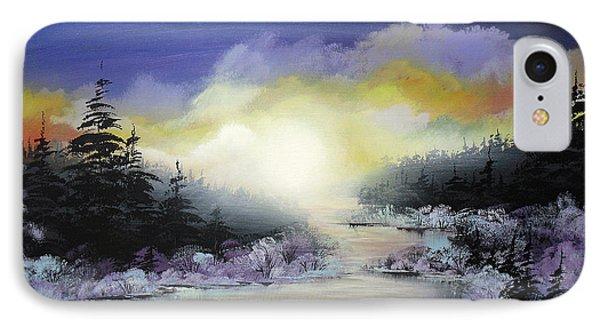 Sunset On The River IPhone Case by Irina Rumyantseva