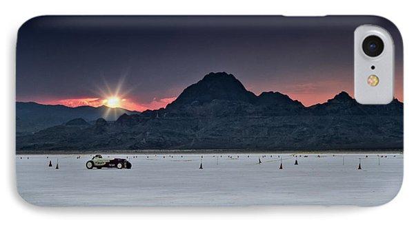 Sunset On The Salt Bonneville 2012 IPhone Case