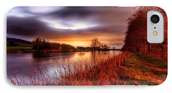 Sunset On The Suir IPhone Case