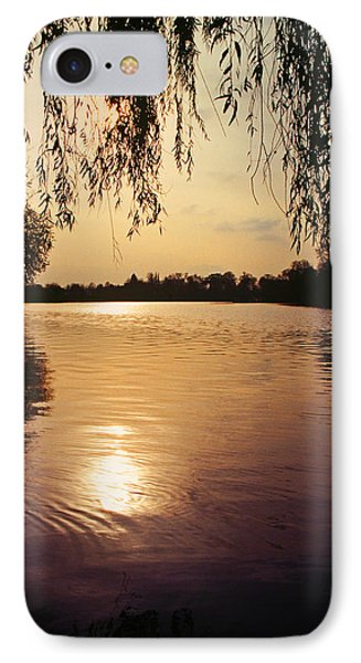 Sunset On The Thames IPhone Case by John Topman