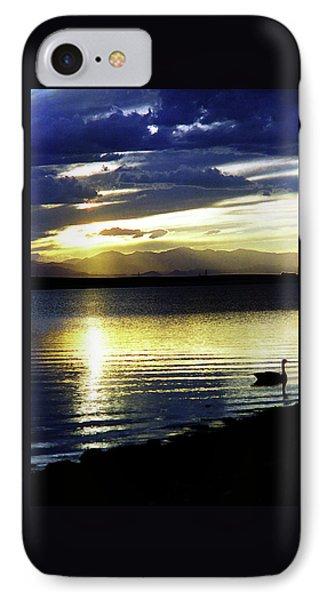 Sunset Over Aurora IPhone Case