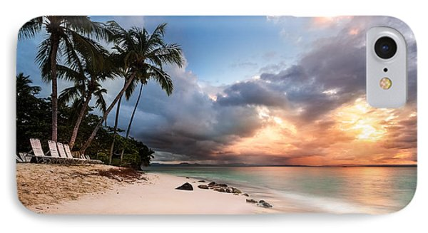 IPhone Case featuring the photograph Sunset Over Bacardi Island by Mihai Andritoiu