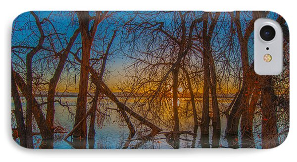 IPhone Case featuring the photograph Sunset Over Barr Lake_2 by Tom Potter