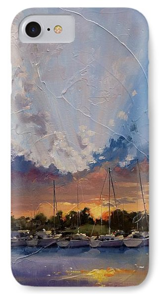 Sunset Over Bay Point Phone Case by Laura Lee Zanghetti