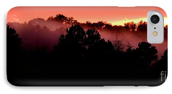 Sunset Over Blue Horse Rescue IPhone Case