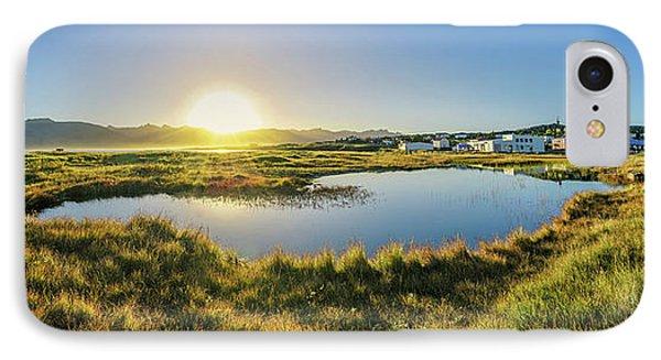 Sunset Over Breiddalsvik, Iceland IPhone Case