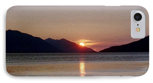 Sunset Over Cook Inlet Alaska IPhone Case