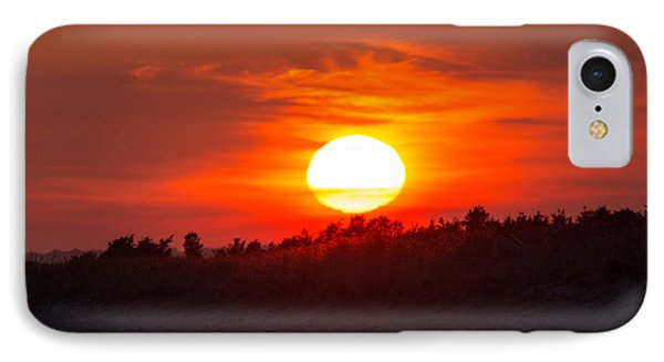Sunset Over Dead Neck IPhone Case by Allan Morrison