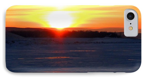 Sunset Over Devils Lake IPhone Case