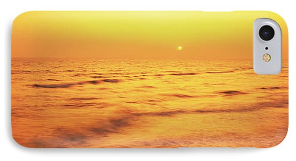 Sunset Over Gulf Of Mexico, Panama City IPhone Case by Panoramic Images