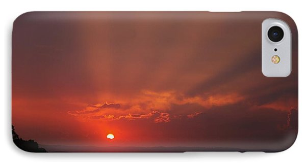 Sunset Over Hope Island 2 IPhone Case by Blair Stuart