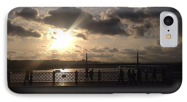 Sunset Over Istanbul Turkey IPhone Case