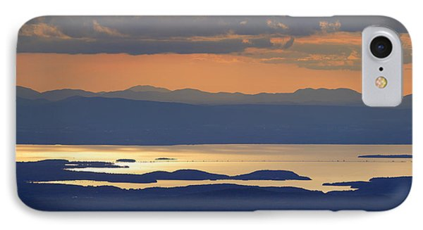 Sunset Over Lake Champlain IPhone Case