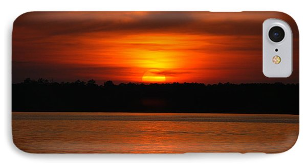 IPhone Case featuring the photograph Sunset Over Lake Martin by Donald Williams