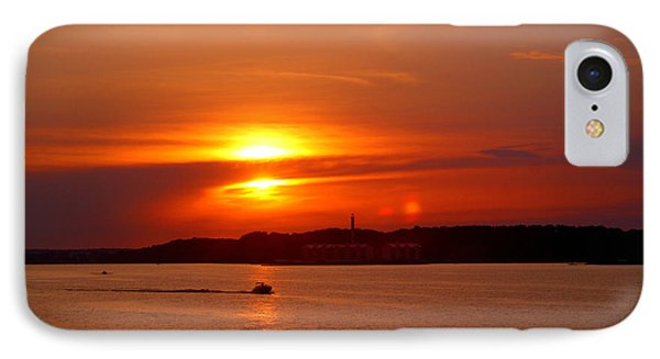 Sunset Over Lake Ozark IPhone Case by Cricket Hackmann