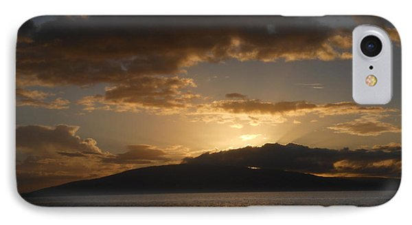 IPhone Case featuring the photograph Sunset Over Lanai by Fred Wilson