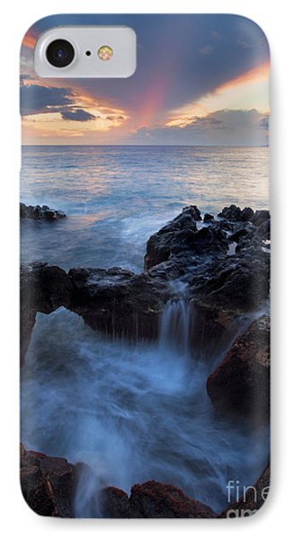 Sunset Over Lanai IPhone Case by Mike  Dawson