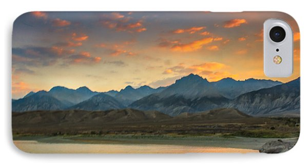Sunset Over Lost  River Moutains IPhone Case
