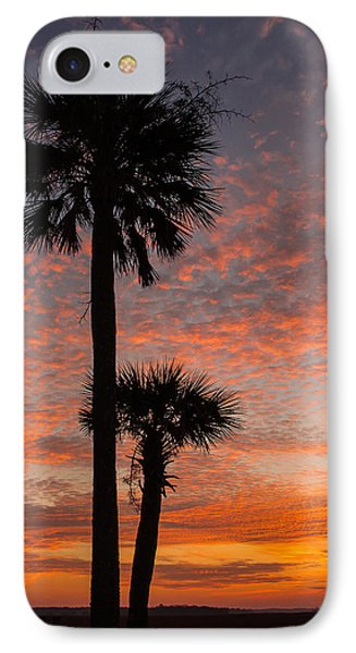 IPhone Case featuring the photograph Sunset Over Marsh by Patricia Schaefer