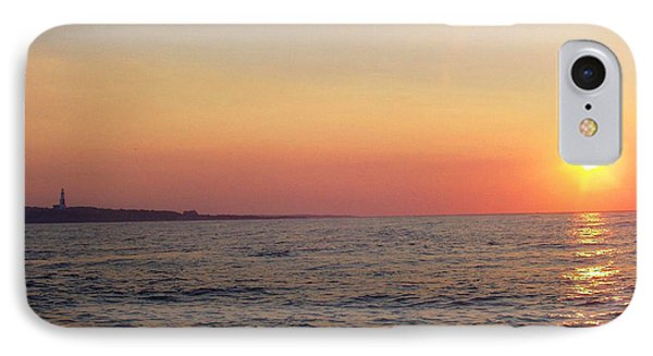 Sunset Over Montauk IPhone Case by John Telfer