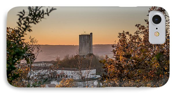 Sunset Over Montcuq IPhone Case by Tony Priestley