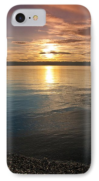 Sunset Over Puget Sound IPhone Case